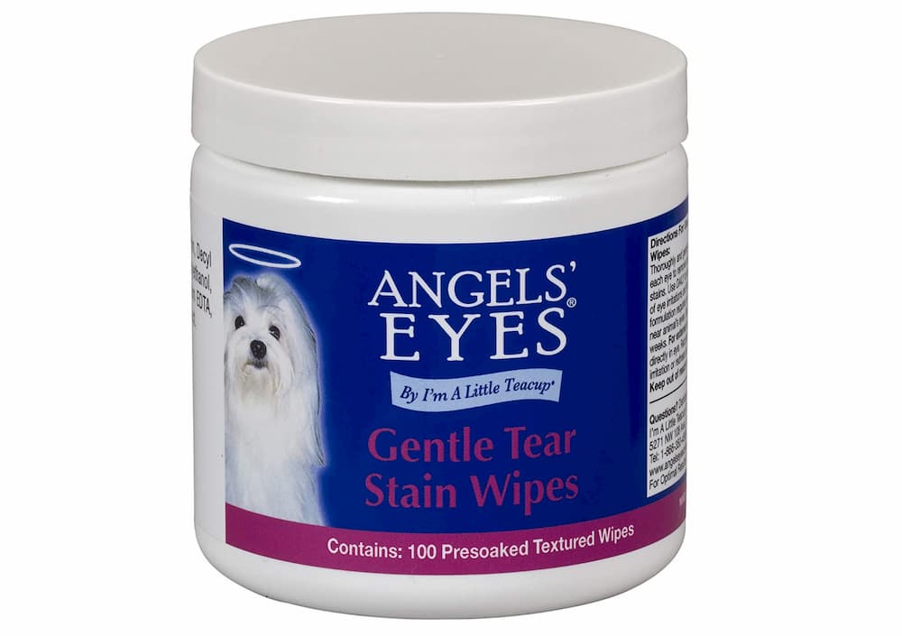 Angel Eyes for Dogs tear stain wipes