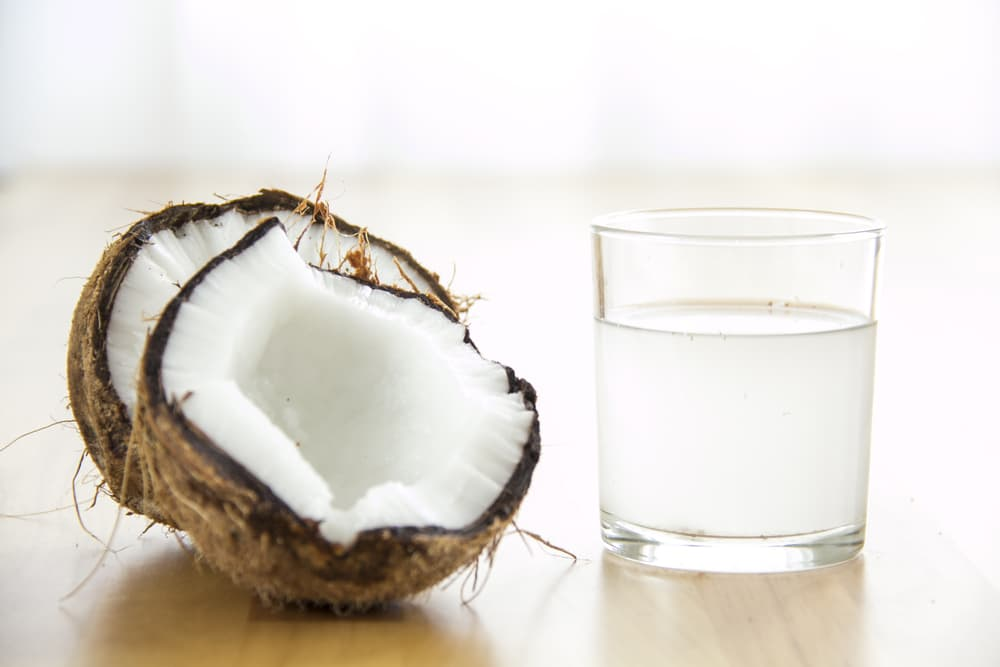 coconuts and coconut water