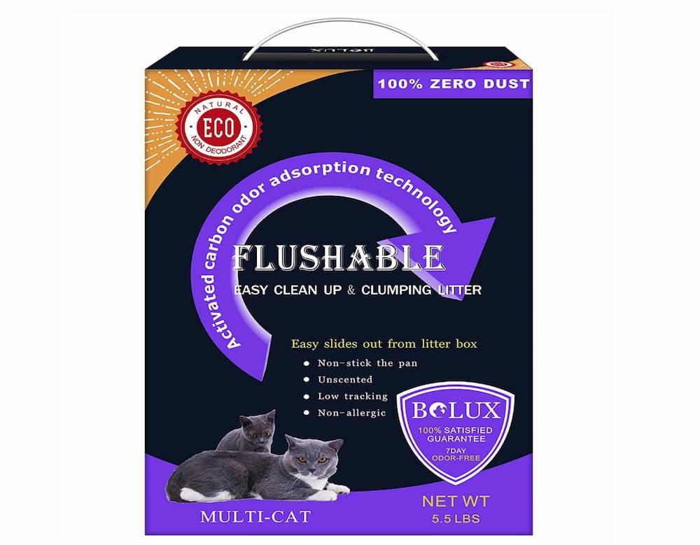 Bolux Flushable Cat Litter