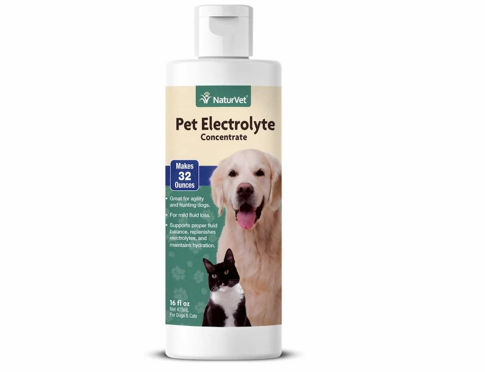 Naturvet Electrolyte concentrate for dogs