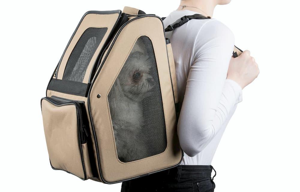 khaki-pet-rio-dog-backpack