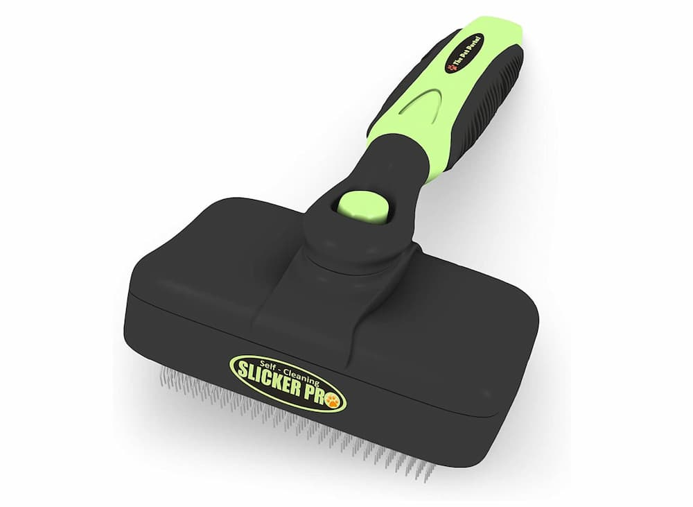 Pet Portal Self Cleaning Slicker Pro