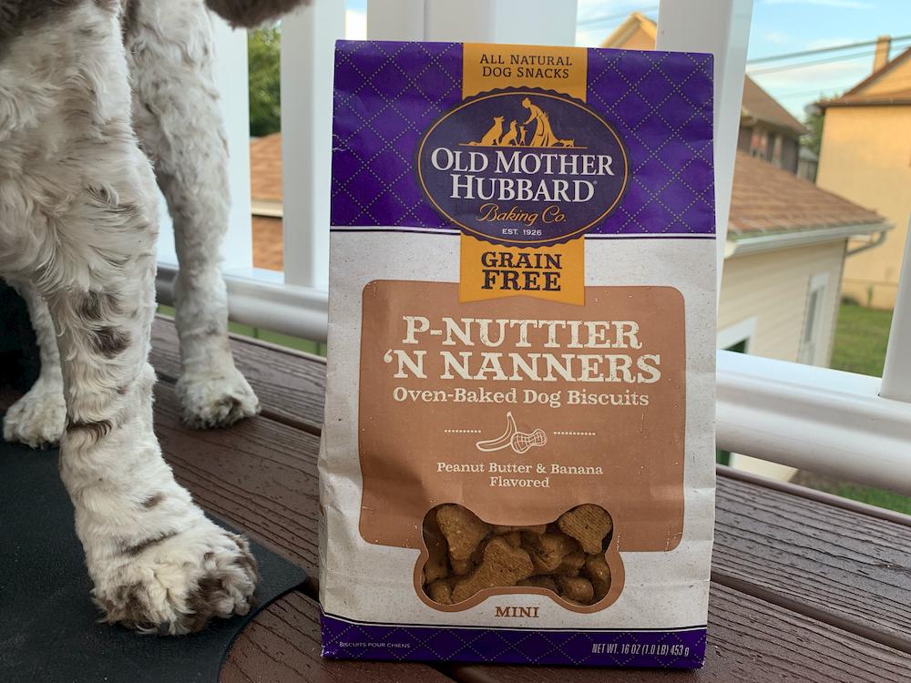 Old Mother Hubbard grain free peanut butter treats