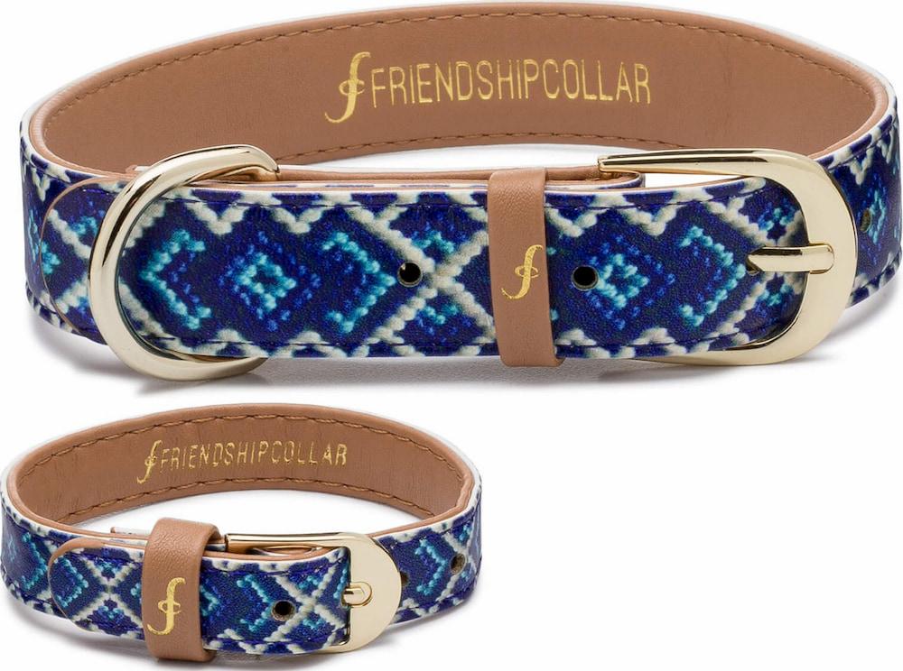 Vegan leather dog collar