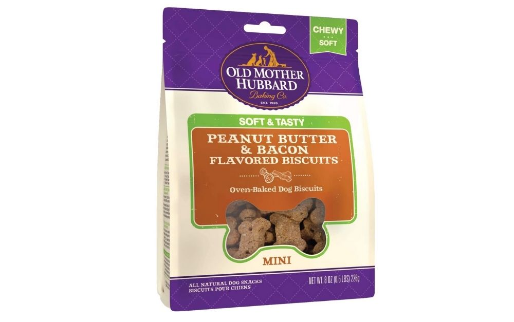 Old Mother Hubbard peanut butter and bacon treats