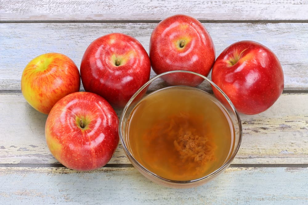 Apple cider vinegar with mother enzyme