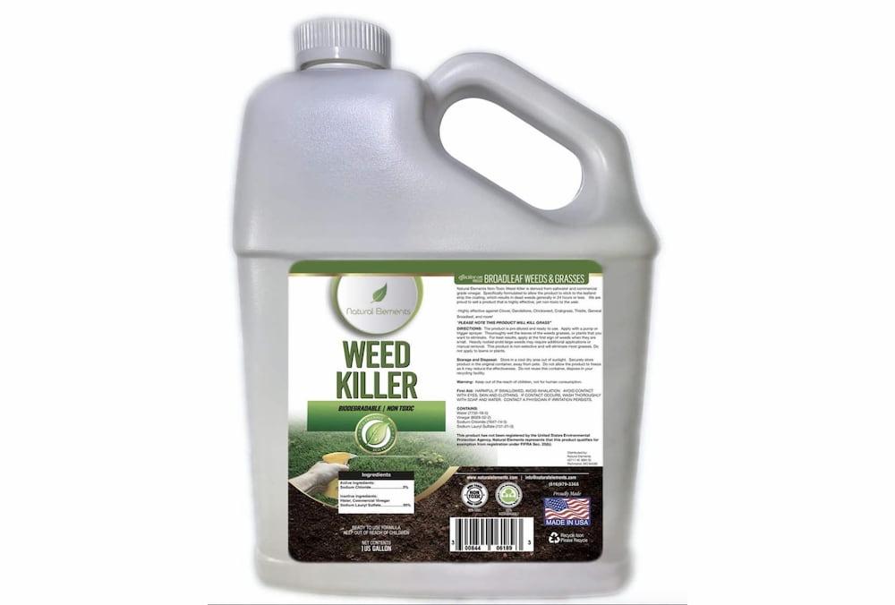Natural Elements weed killer