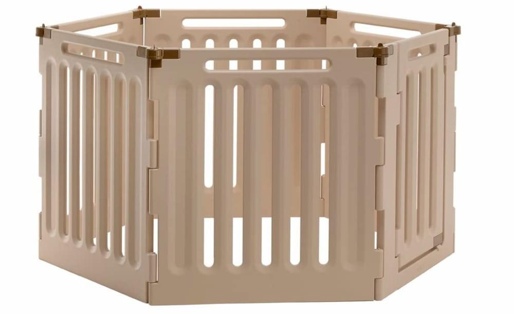 Richell 6-Panel Convertible Indoor Outdoor Playpen