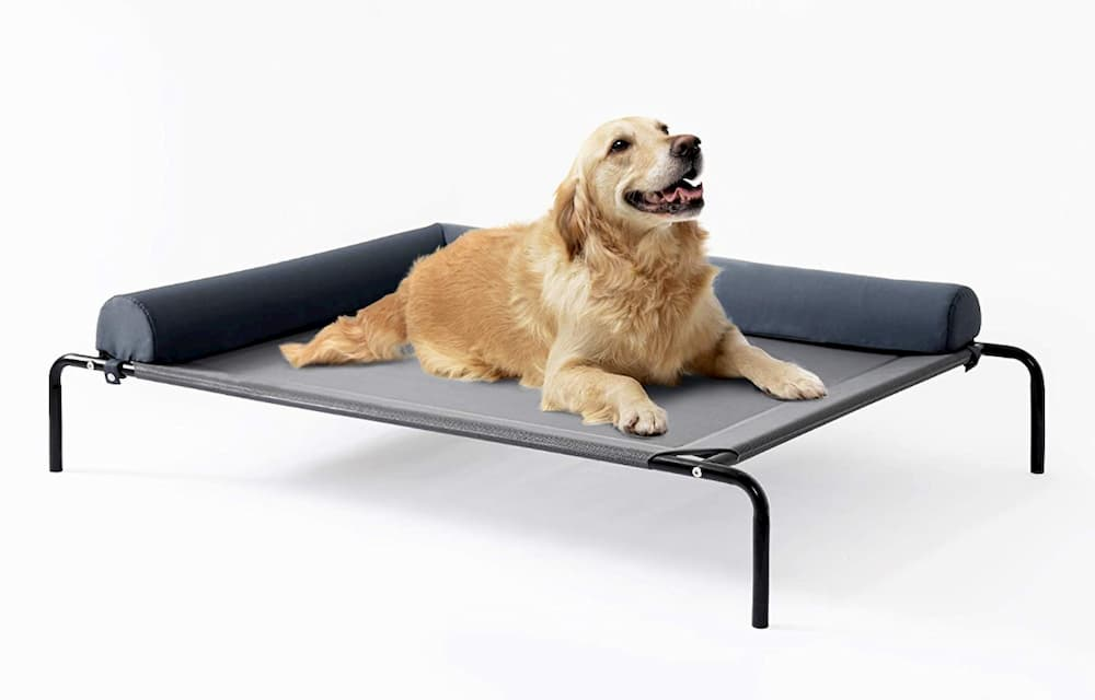 Love's Cabin Bolster Elevated Dog