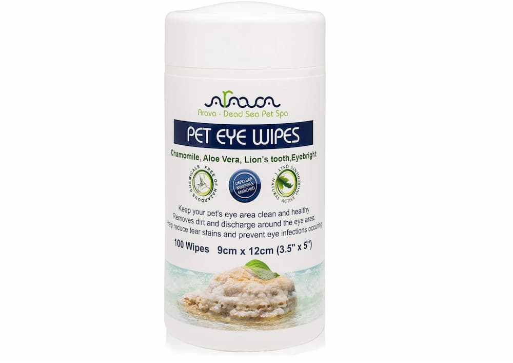 Arava Pet Eye Wipes