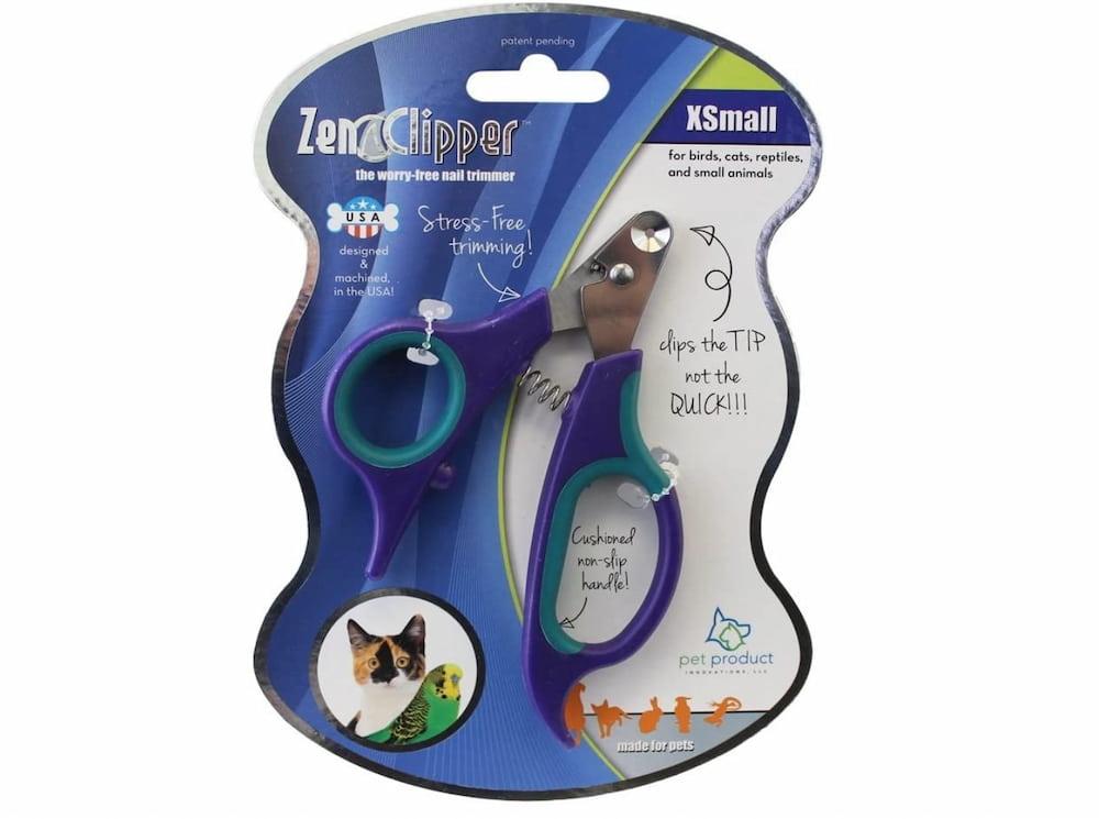 Zen Clipper dog nail clipper in package