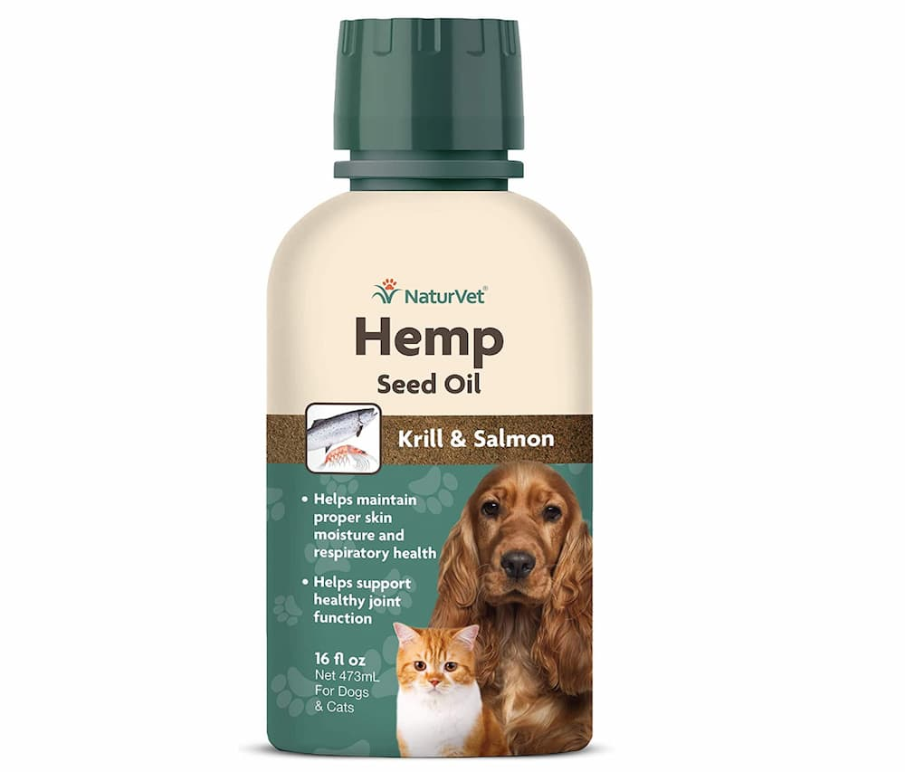 NaturVet Hemp Seed Oil