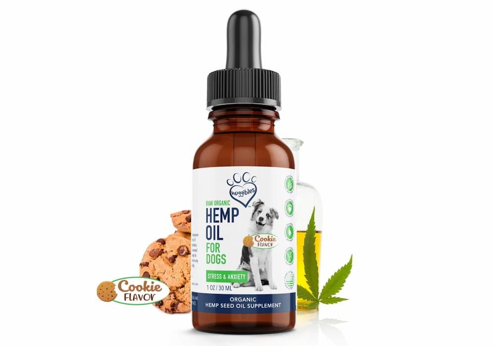 Huggibles flavored hemp seed oil