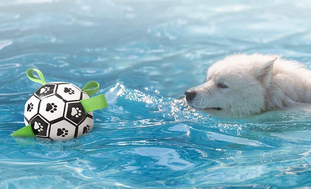 ES Soccer Ball Dog Toy
