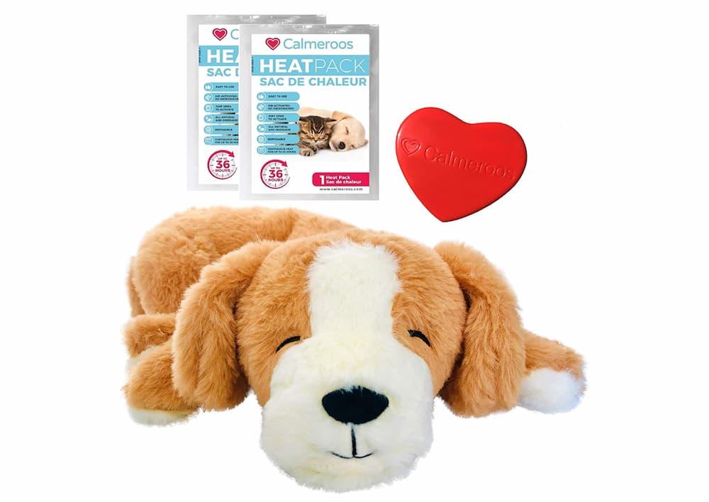Calmeroos Puppy Heartbeat Toy