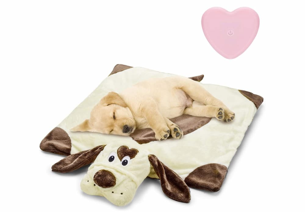 Moropaky Puppy Heartbeat Toy Bed Mat