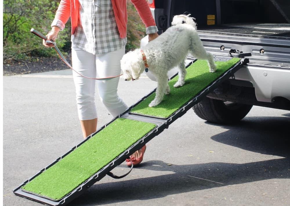 Gen7 Natural Step Dog Ramp for Vehicles