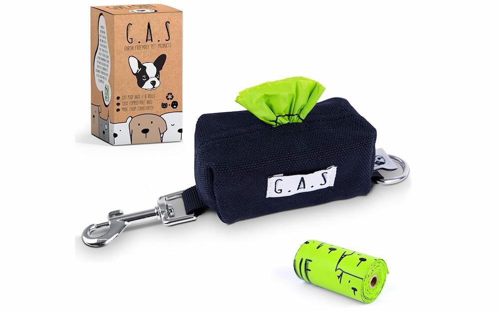G.A.S. canvas dog poop bag holder