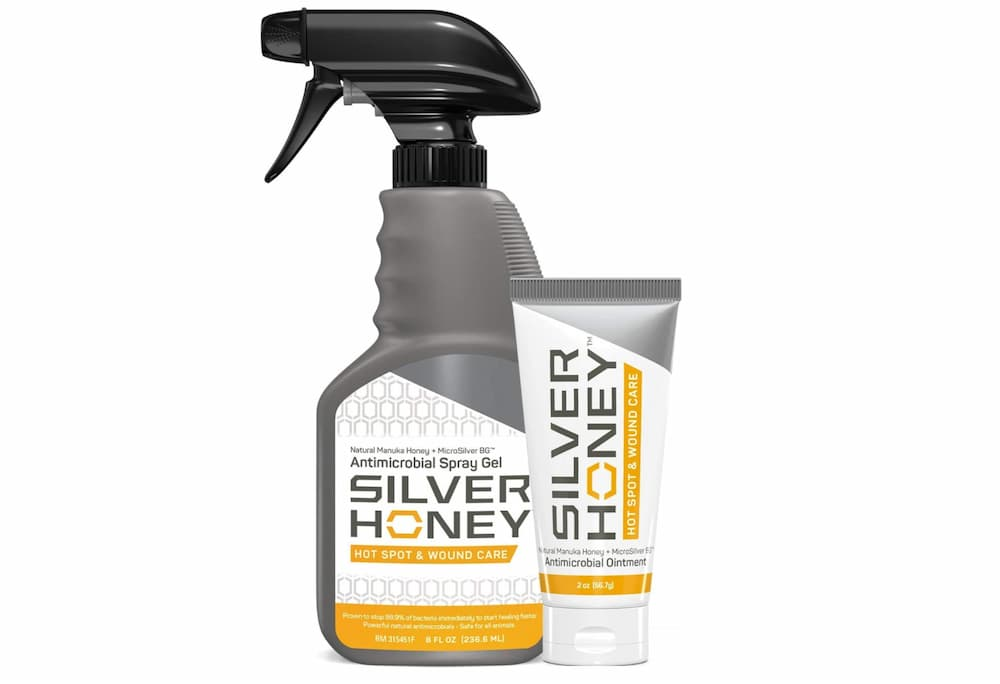 Silver Honey wound care for dogs