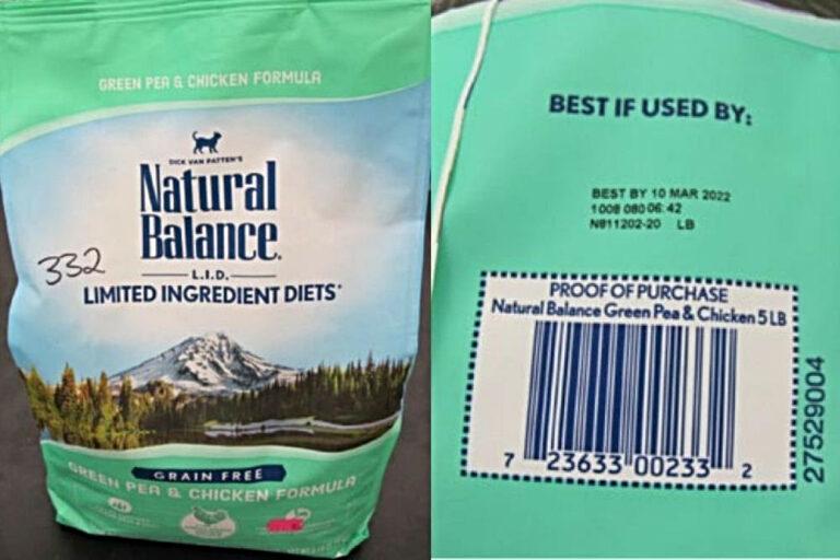 Natural Balance Green Pea & Chicken Dry Cat Formula