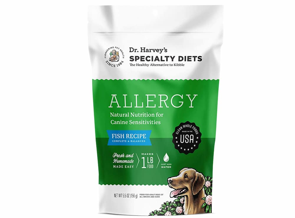 High-protein dog food formula: specialty diets fish recipe