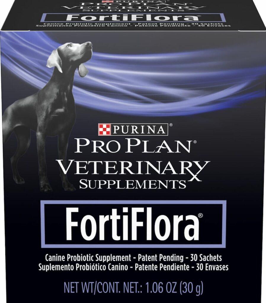 Box of Pro Plan Veterinary supplements FortiFlora