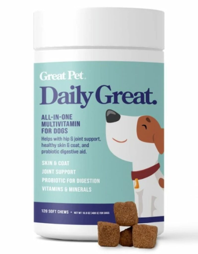 Daily Great multivitamin for dogs