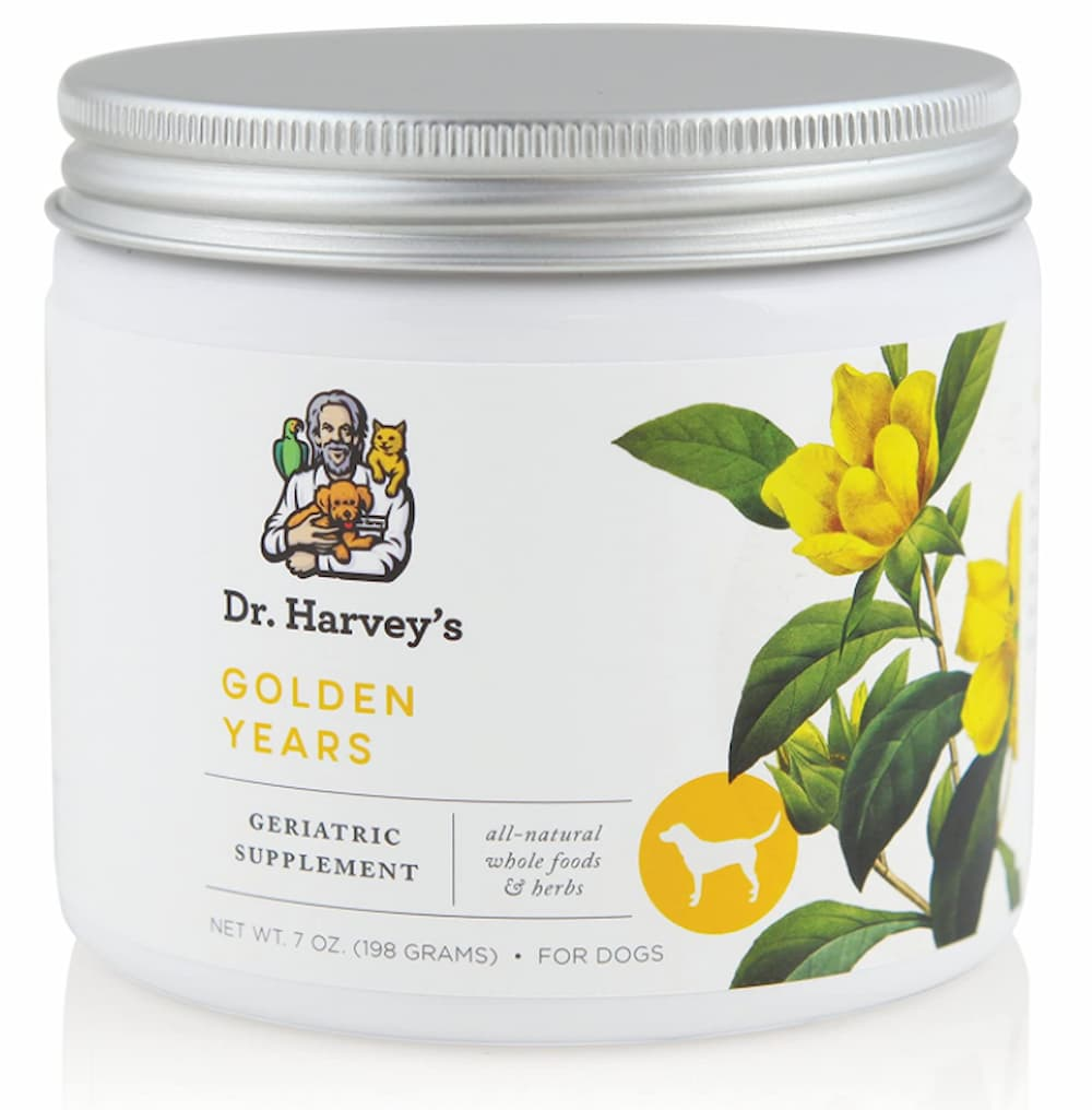 Golden Years supplement for dogs