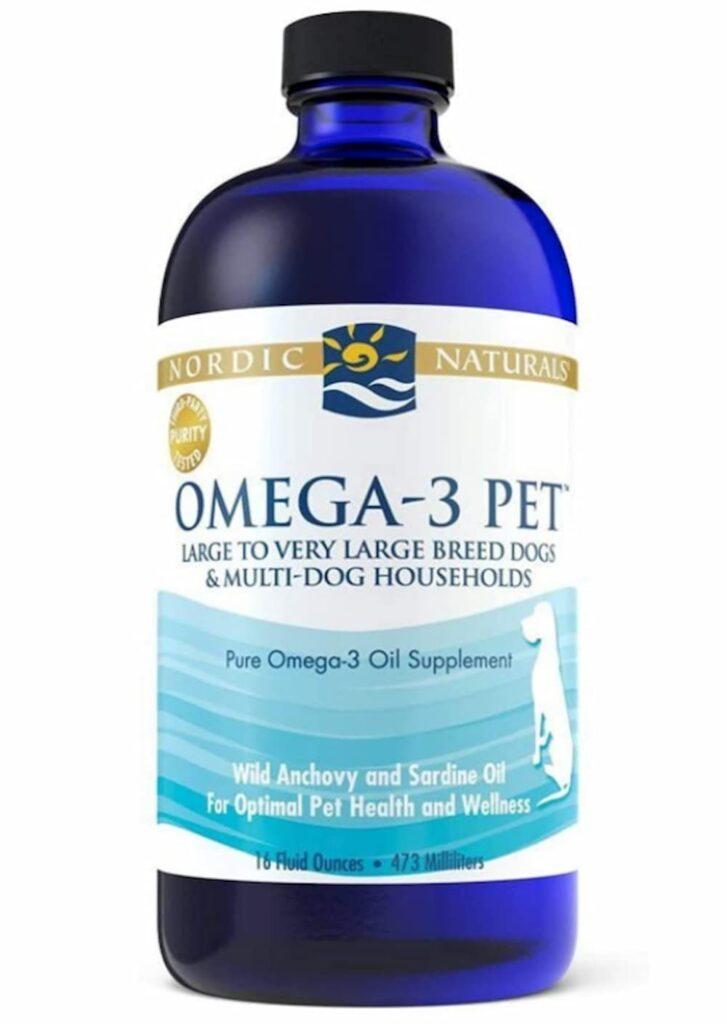 Nordic Naturals Omega-3 Pet Oil Supplement
