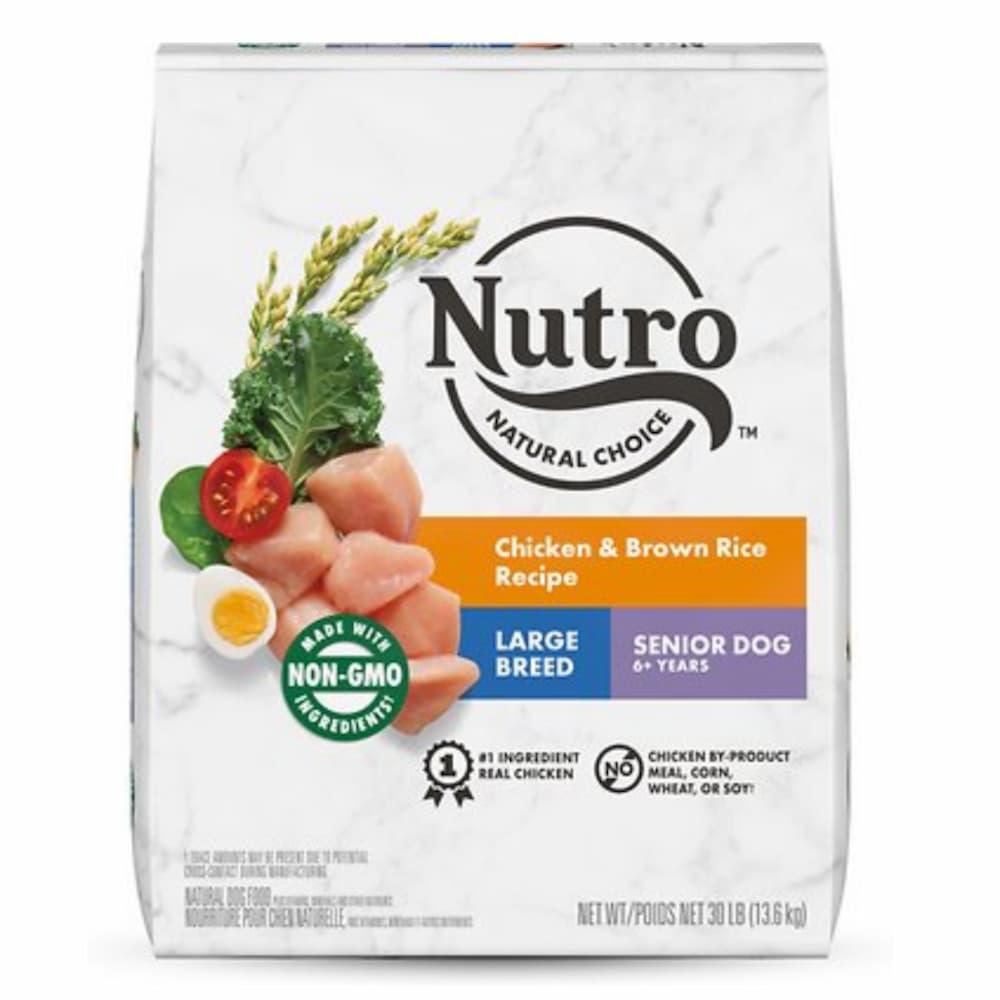 Nutro senior dog food recipe