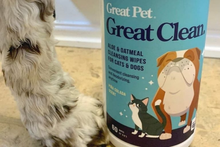 Great Clean wipes for dogs and cats