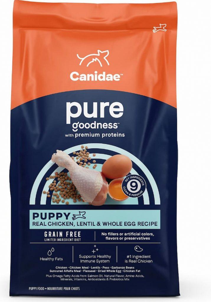 Canidea grain free puppy food