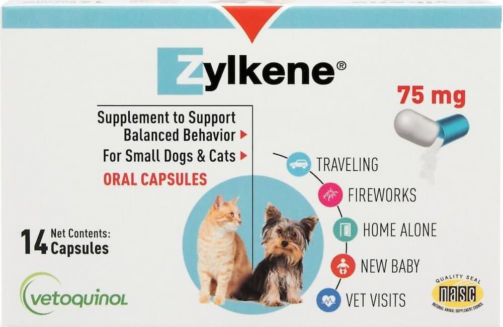 Zylkene for cats box