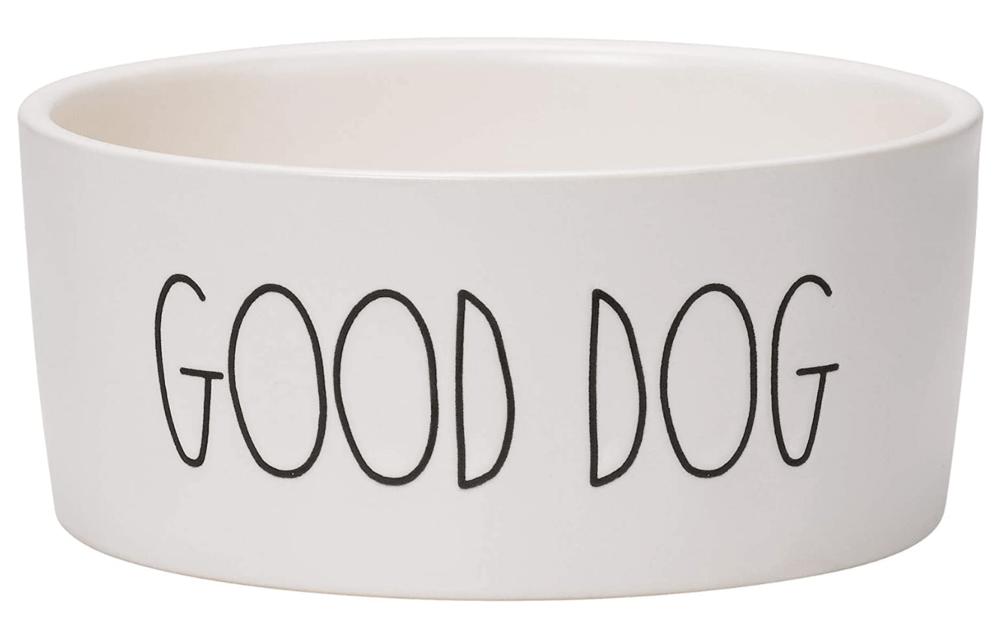 Stoneware medium dog bowl