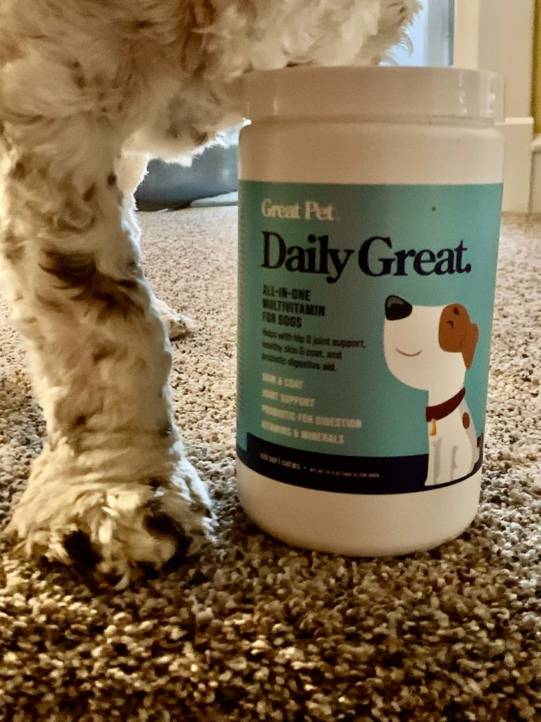 Daily Great for dogs multivitamin
