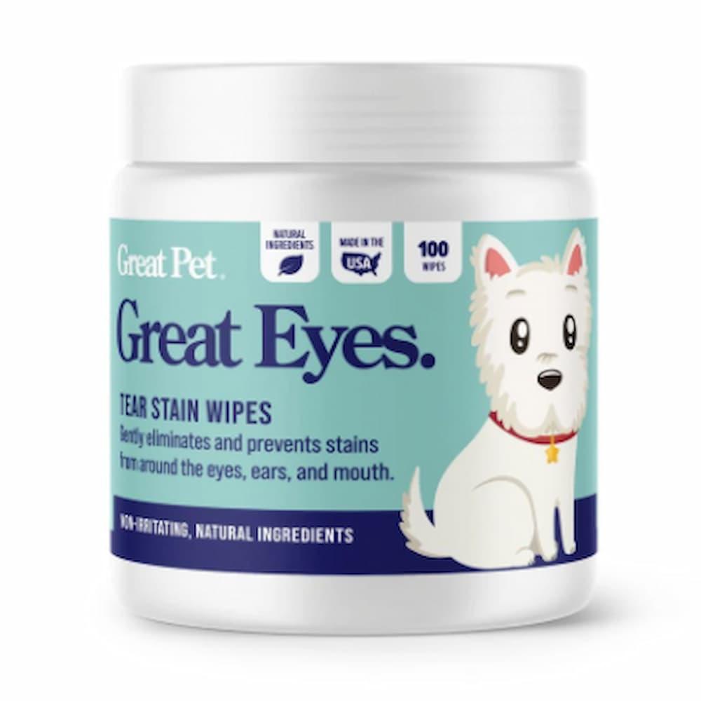 Great Eyes tear stain wipes