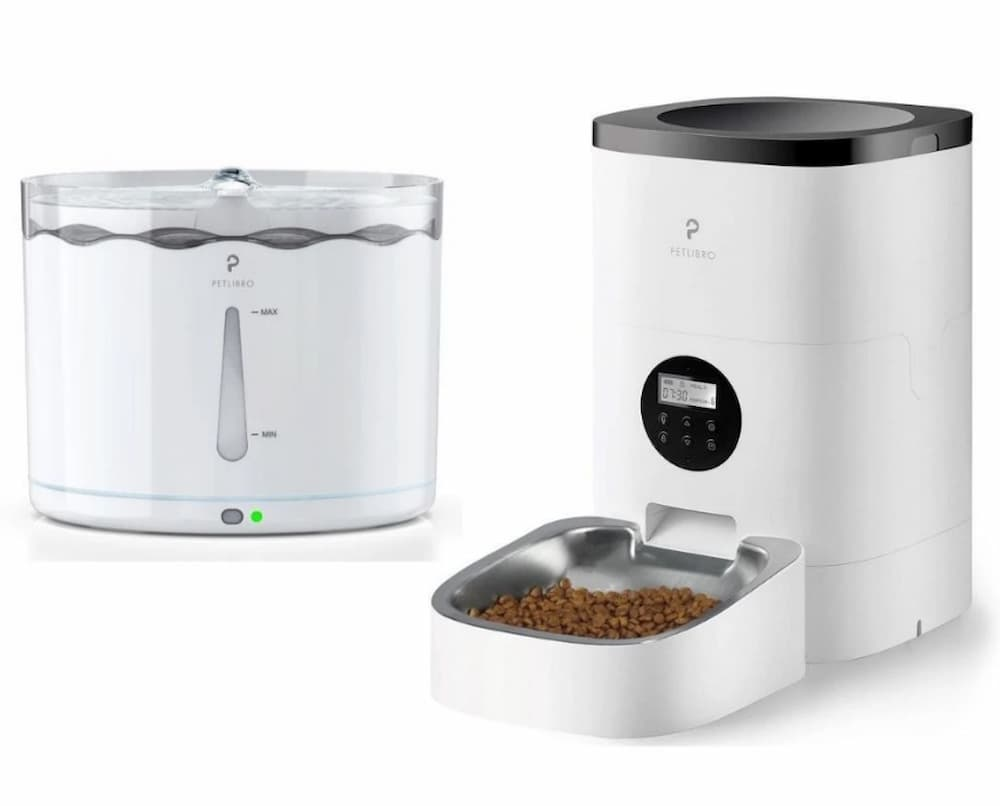 Petlibro water fountain and feeder