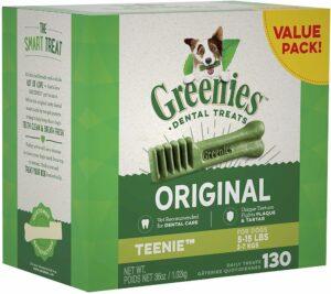 Greenies teenie dental chews