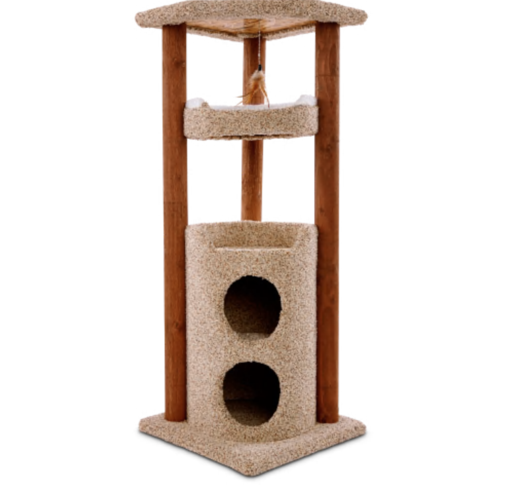 You & Me Cat Multi-Level Play Center