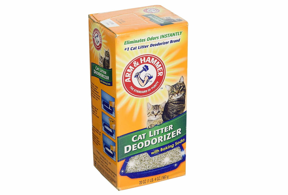 Arm and Hammer cat litter box deodorizer