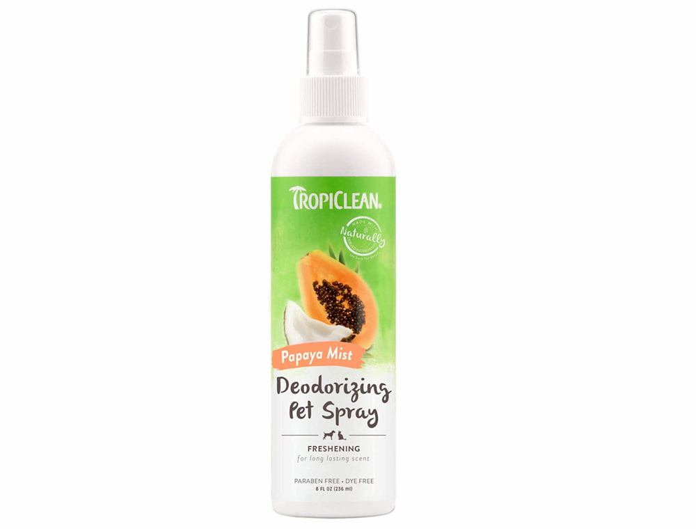 Tropiclean pet deodorizing spray