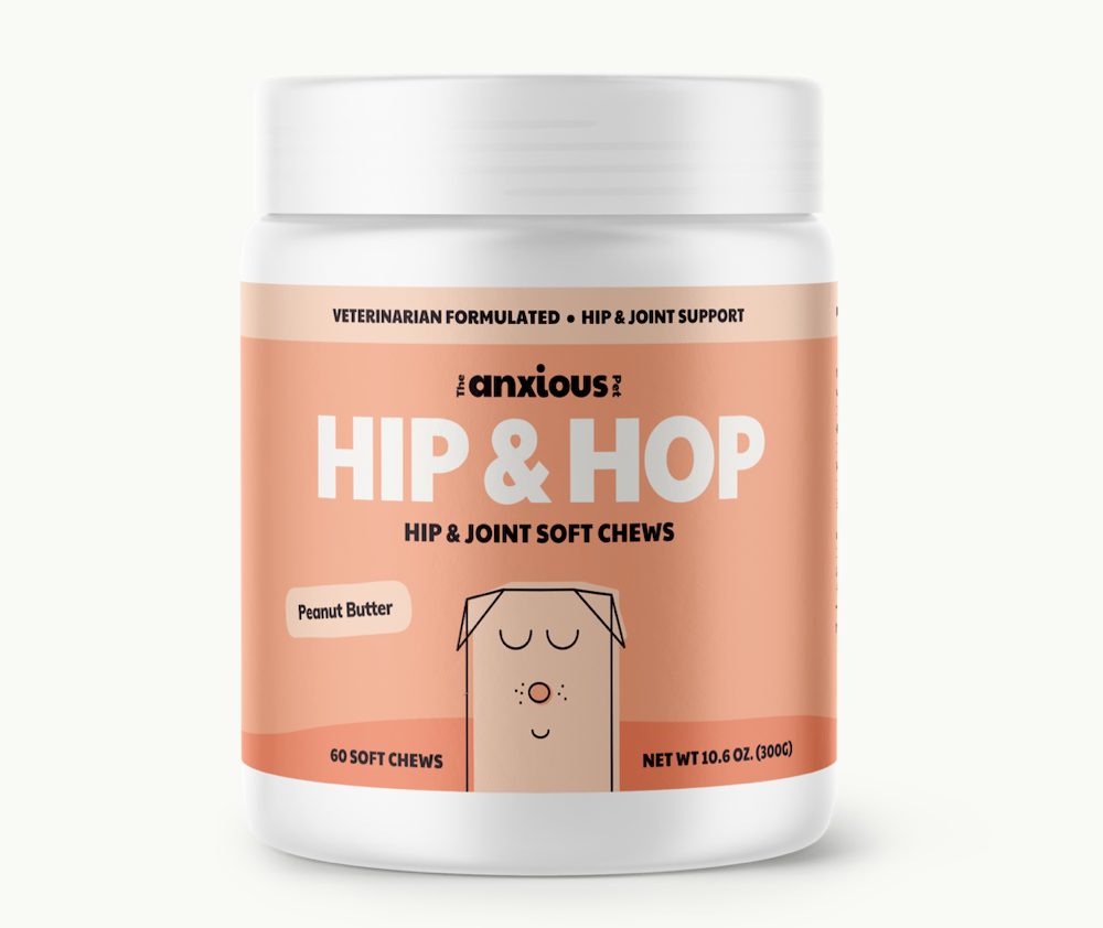 Hip and Hop soft chews from The Anxious Pet